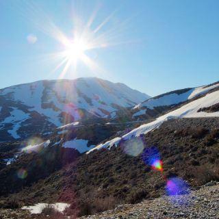 Mount Psiloritis - the highest mountain on the island