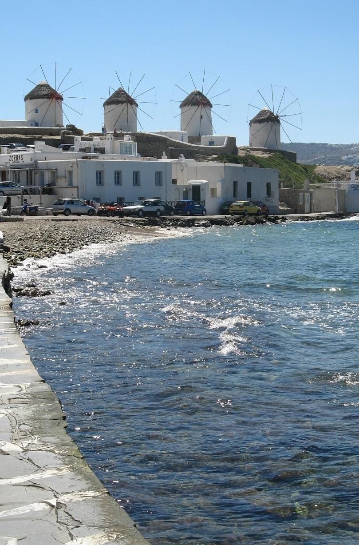 Mykonos - those famous windmills!