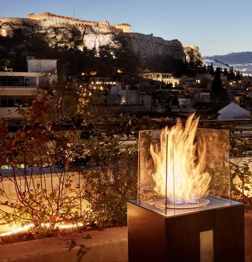 View from Zillers Boutique Hotel, Athens
