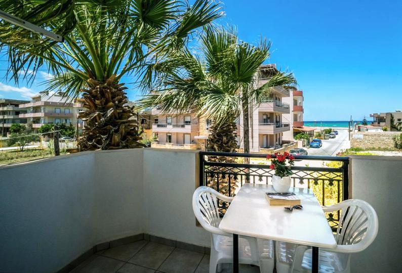 Yannis Apartments, Ammoudara, Balcony