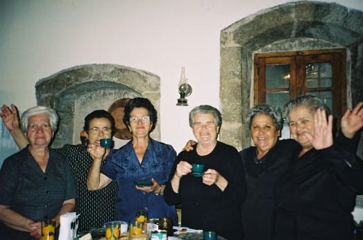 Good parea in the village, Crete