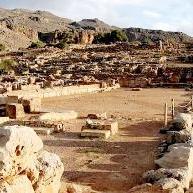 Zakros ruins