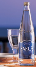 Zarós Bottled Water, Crete Kriti