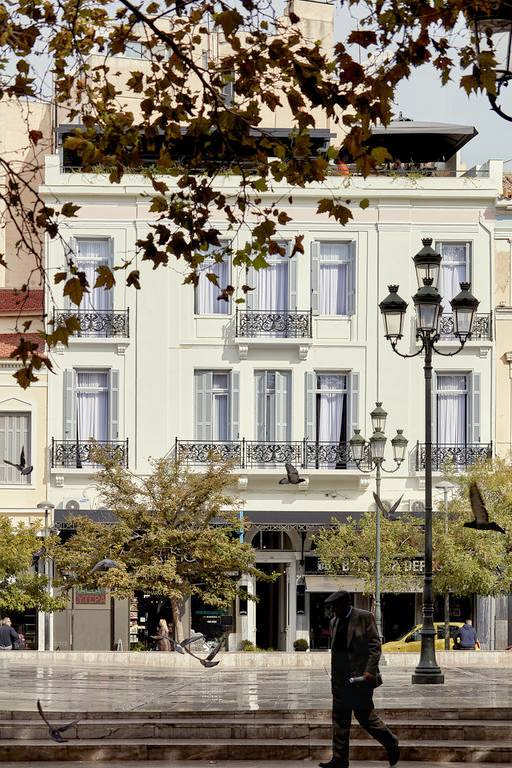 This lovely small hotel in Plaka is a neoclassical style and close to everything